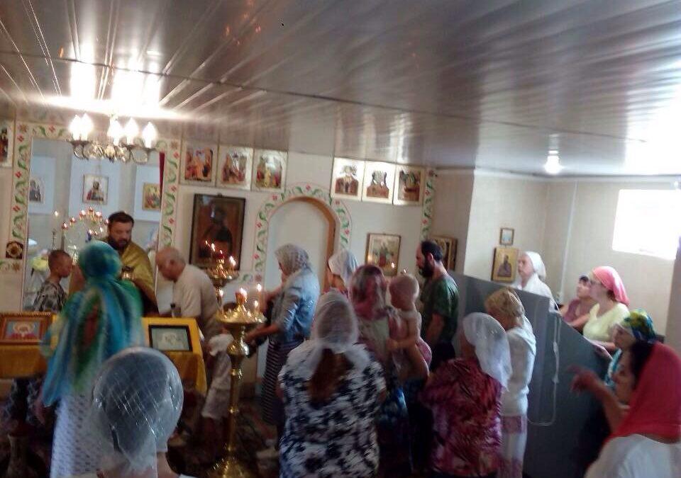 Богослужение в праздник Положения ризы Господней в г. Москве,