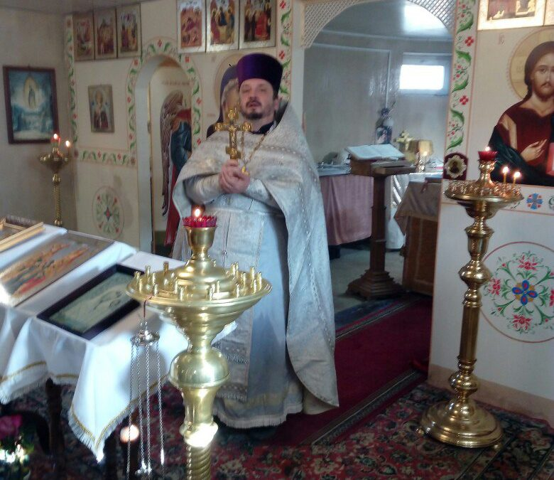 Богослужение в Крещенский сочельник.